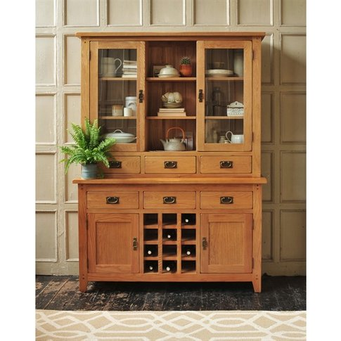 Oakland Dresser with Wine Rack