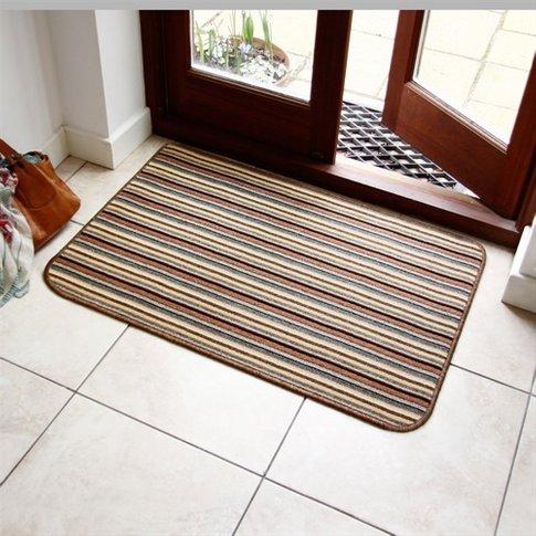 Brown Washable Doormat