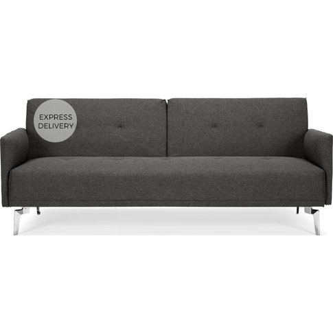 Akio 3 Seater Sofa Bed, Cygnet Grey