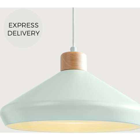 Albert Pendant Lamp, Duck Egg