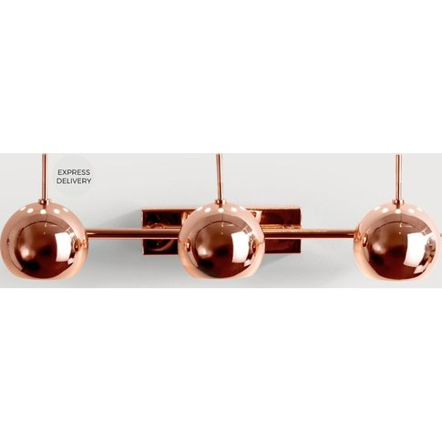 Austin Spot Wall Light, Copper