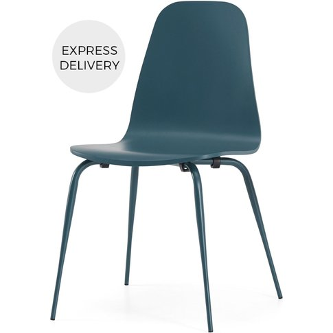 Juvia Dining Chair, Teal