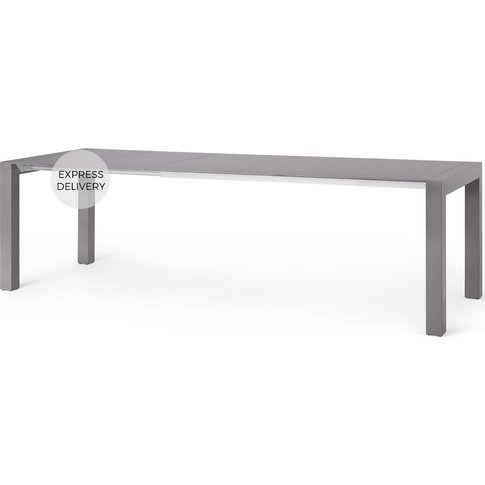 Bramante 8-12 Seat Extending Dining Table, Grey