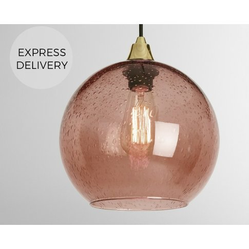 Made Essentials Edna Lamp Shade, Blush