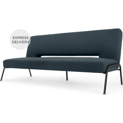 Knox Click Clack Sofa Bed, Aegean Blue