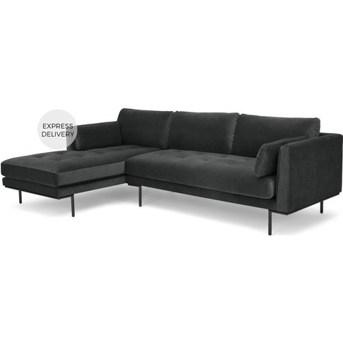 Harlow Left Hand Facing  Chaise End Corner Sofa, Mid...