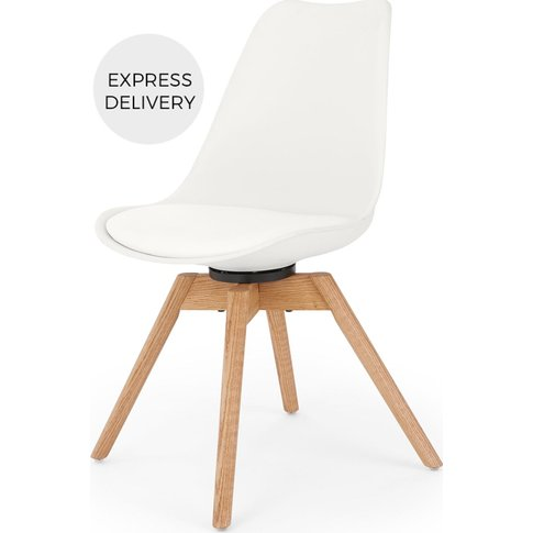 Thelma Office Chair, White