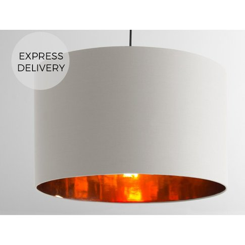Oro Extra Large Pendant Drum Lamp Shade, White Clay ...