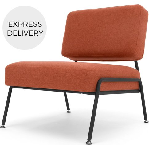 Knox Accent Chair, Retro Orange