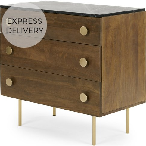 Marion Chest Of Drawers, Marble