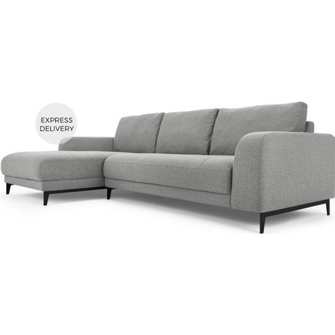 Luciano Left Hand Facing Chaise End Corner Sofa, Mou...