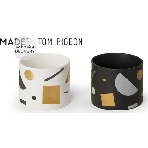 Assembly Tom Pigeon Set Of Two Planters, Multi