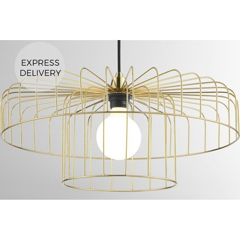 Estella Lamp Shade Set, Brass
