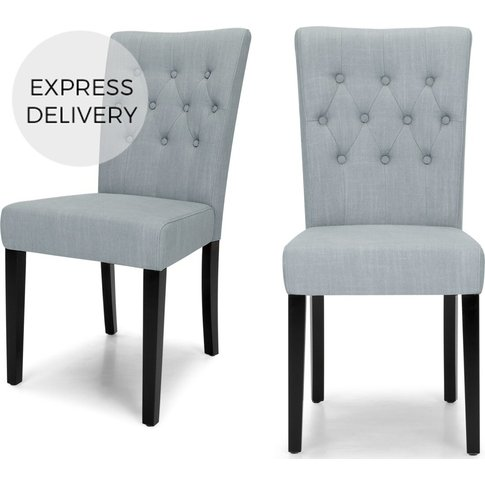 Set of 2 Flynn Dining Chairs, Persian Grey