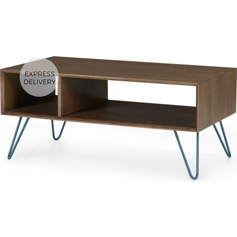 Dotty Coffee Table, Dark Stain