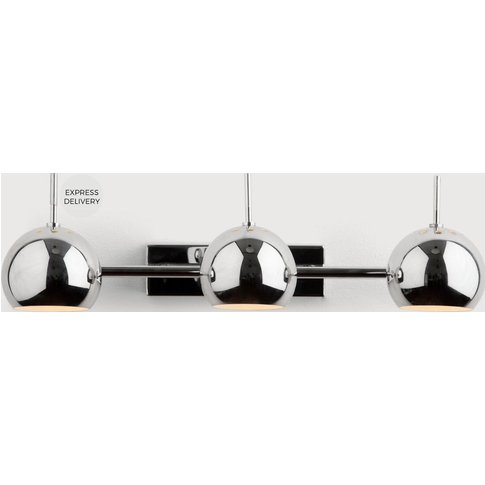 Austin Spot Wall Light, Chrome