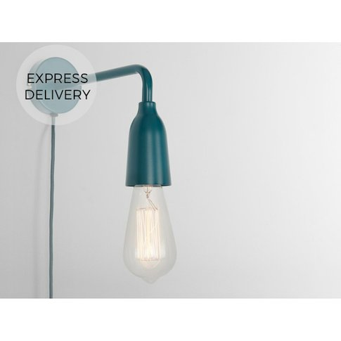 Made Essentials Frey Wall Light, Teal