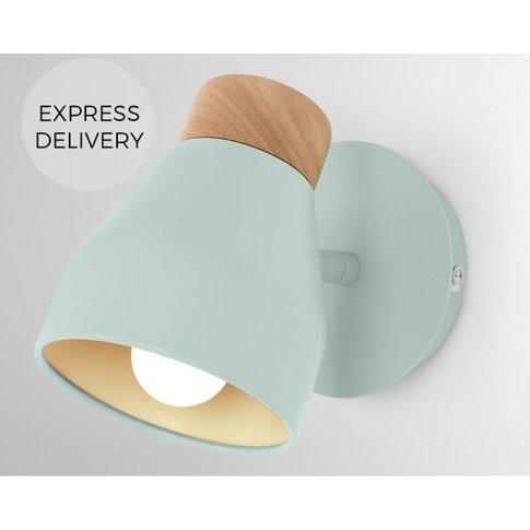 Albert Wall Light, Duck Egg Blue