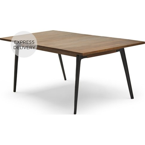 Lucien 6- 8 Seat Extending Dining Table, Dark Mango ...