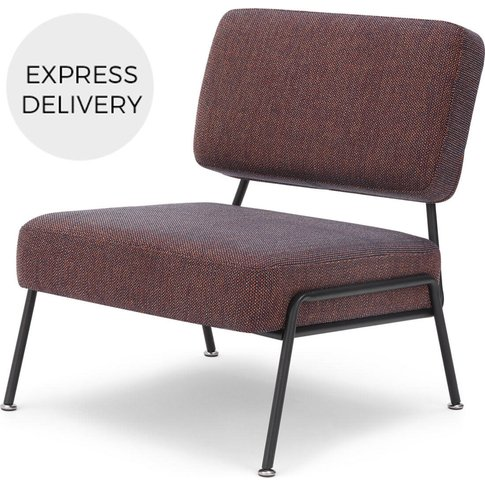 Knox Accent Chair, Blue Rosa Weave