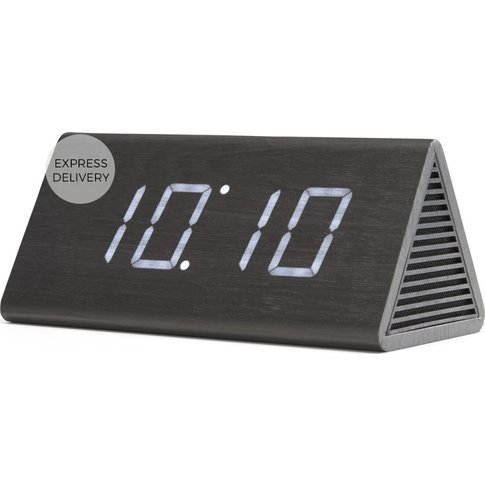 Odette Triangle Digital Alarm Clock And Bluetooth Sp...