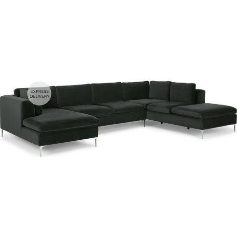 Monterosso Right Hand Facing Corner Sofa, Dark Anthr...