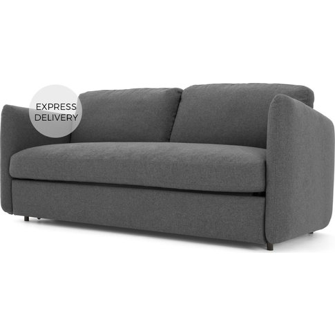 Fletcher 3 Seater Sofabed With Pocket Sprung Mattres...