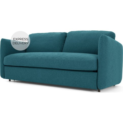 Fletcher 3 Seater Sofabed with Memory Foam Mattress,...