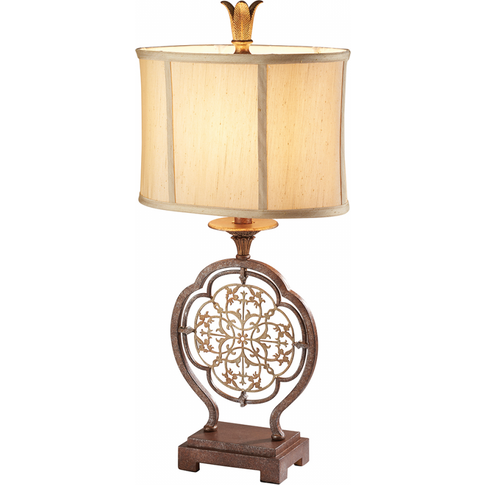 British Bronze/Oxidized Bronze 1lt Table Lamp - 1 X ...