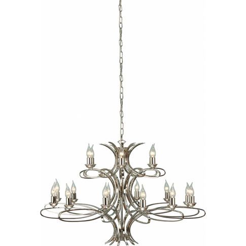 Pendant Light - Polished Nickel Plate By Happy Homew...