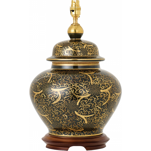 Table Light - Hand Painted With Real Gold Accents & ...