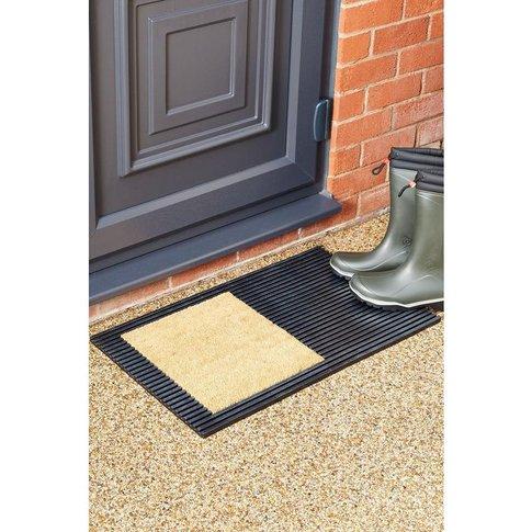 Mud Stopper Denton Dual Purpose Rubber And Coir Doormat