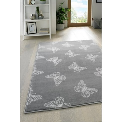 Butterfly Scatters Rug