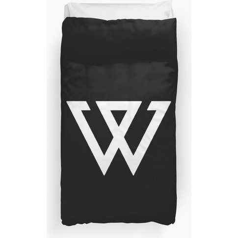 Aesthetic Minimalistic Black Winner Logo Kpop Duvet Cover/Blanket Duvet Cover