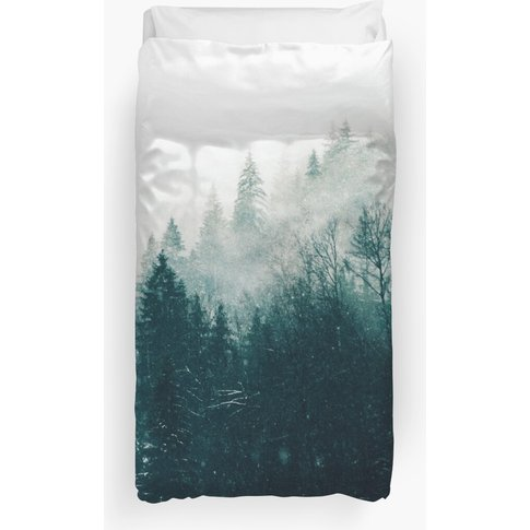 The Silent Forest #Redbubble #Lifestyle Duvet Cover