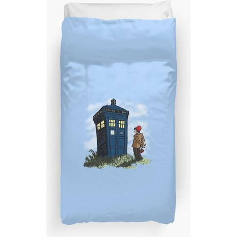 The Doctor's Wife Duvet Cover
