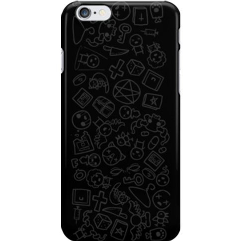 The Binding Of Isaac Rebirth Scribbles Snap Case For...
