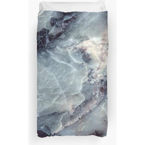 Blue Marble Duvet Cover