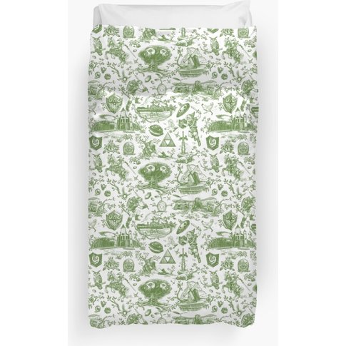 "Zelda ""Hero Of Time"" Toile - Kokiri's Emerald Duvet ..."