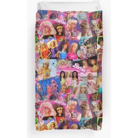80'S Barbie Duvet Cover