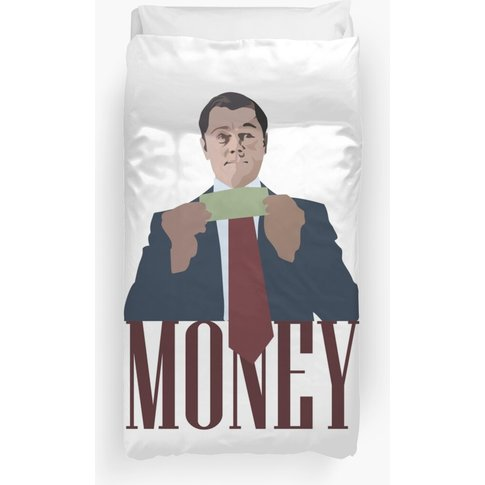 Wolf Of Wall Street - Money Duvet Cover