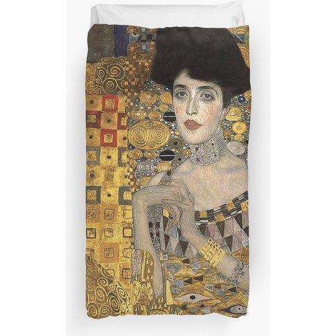 Gustav Klimt, Adele Bloch-Bauer  Duvet Cover