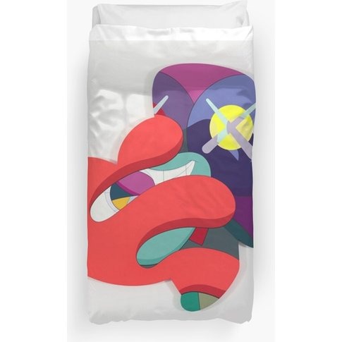 Rainbow Kaws  Duvet Cover