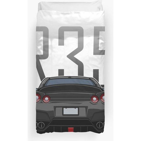 Nissan Gt-R Aimgain Duvet Cover