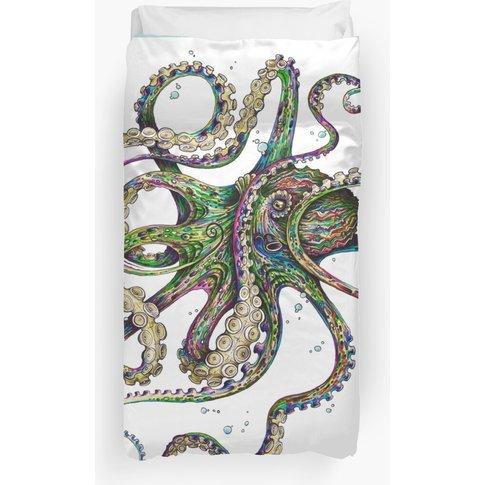 Octopsychedelia Duvet Cover