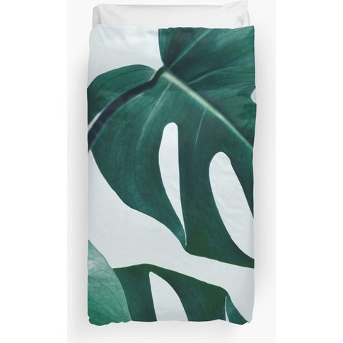 Monstera #Redbubble #Artprints Duvet Cover
