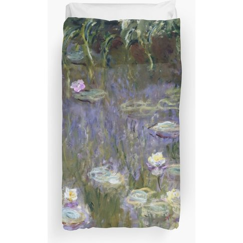 "Claude Monet ""Water Lilies"" (1) Duvet Cover"