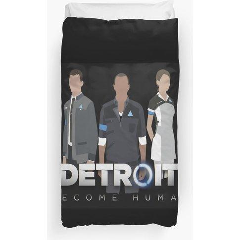 Detroit Become Human Duvet Cover