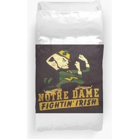 Notre Dame Fighting Irish Duvet Cover