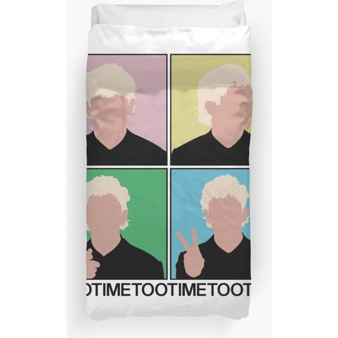 Tootime - The 1975 - Vector Print Duvet Cover